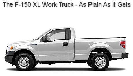 The F150 Xl Work Truck Plain Easy To Clean And Inexpensive