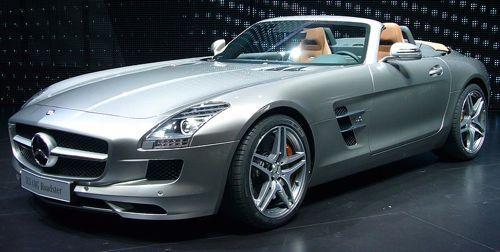 Mercedes-Benz SLS AMG Roadster, the finest convertible Roadster you can buy