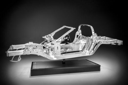 2014 Corvette Aluminum Frame