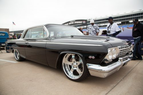 Extremely clean Impala with custom wheels