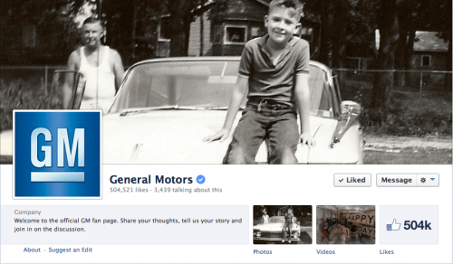 Visiting a Car Maker's Facebook Page Might be a Good Idea if You Have a Complaint.