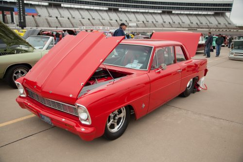 This bold Nova was a show stopper