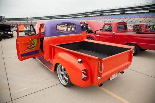 Custom trucks were an exciting addition to the show