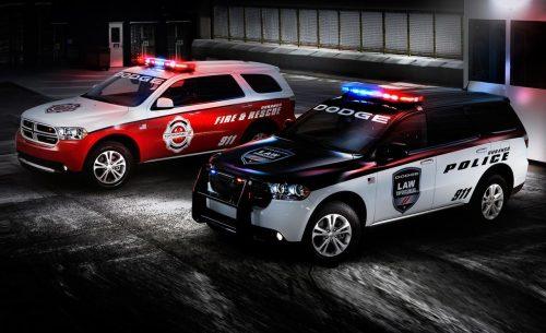 Police Using Durangos