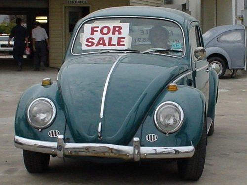 Old Bug for Sale