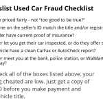 How To Spot Fraud When Buying a Car On Craigslist or eBay